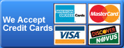 Garage Door Repair Lynnwood accepts all major credit cards